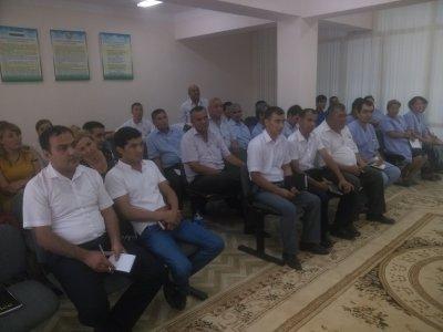 Navoiy viloyati arxiv ishi hududiy boshqarmasida 2016 yil 13 iyul kuni o'quv seminari tashkil etildi.