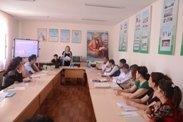 Navoiy davlat pedagogika institutida o'quv-seminar bo'lib o'tdi.